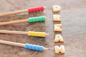 droom alfabet koekjes