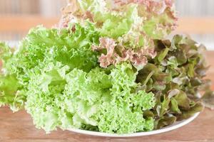 plaat van salade