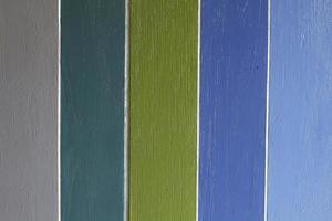 kleurrijk geschilderde muur foto