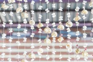 decoratie met verschillende schelpen en slakken foto
