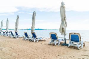 eilandparadijs strandstoel achtergrond