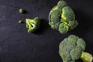hoofd van broccoli
