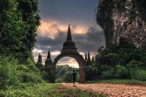 khao na nai luang dharma park, suratthani, thailand foto