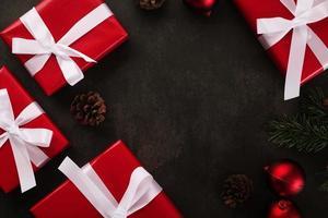 Kerst achtergrond met kopie ruimte