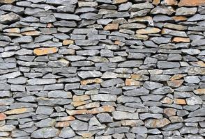 oppervlak van de stenen muur achtergrond foto