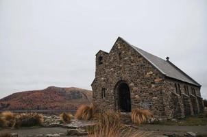 bruine bakstenen gebouw in Nieuw-Zeeland