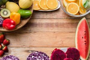 verse groenten en fruit