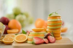 verschillende soorten vers fruit