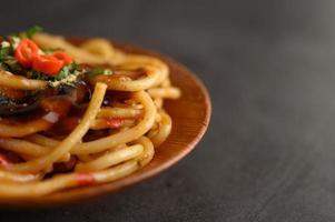 Italiaanse pasta met saus