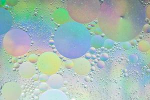 water en olie, abstracte achtergrond