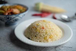 gebakken rijstgerecht