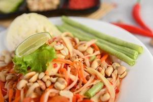 Thaise papajasalade