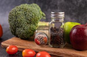 diverse groenten en kruiden