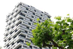 modern flatgebouw foto