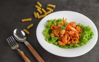 roergebakken tomatenmacaroni