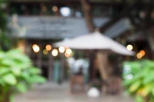 wazig café 's nachts foto