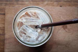 ijskoude melkdrank foto
