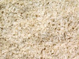 close-up van zout foto