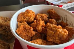 gebakken kippenemmer foto