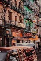 china town in san francisco, californië foto