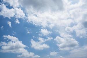 de lucht en de wolken