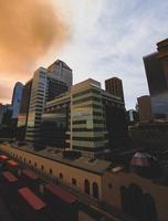 gebouwen in Calgary, Canada foto