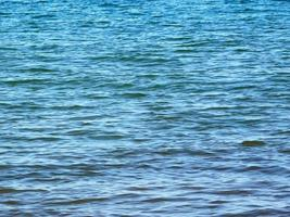 blauwe oceaan textuur foto