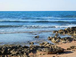 kust gedurende de dag foto