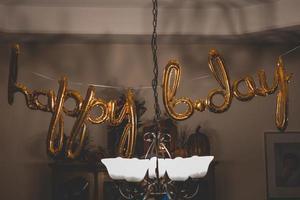 gelukkige verjaardagsballons