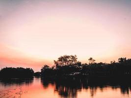 vroege ochtend zonsopgang foto
