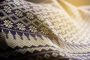 close-up van doek in zonlicht