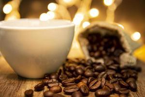 gebrande koffiebonen foto