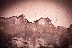 oude verf op een betonnen of cementmuur foto