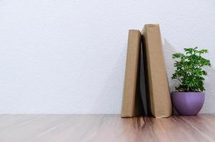 boeken op het bureau
