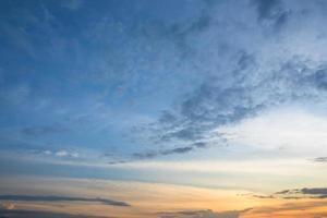 lucht en wolken foto