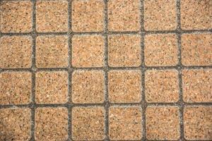 bruine bakstenen vloeren foto