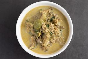 groene kip curry