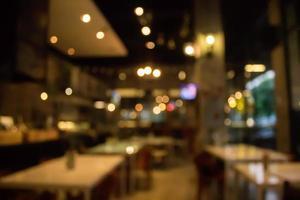 wazig restaurantscène foto