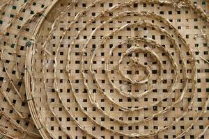bamboe mand voor zijderupsen nest
