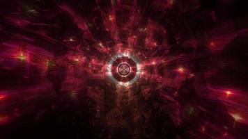 ambient cool dark tech gat tunnel 3d illustratie achtergrond behang ontwerp artwork foto