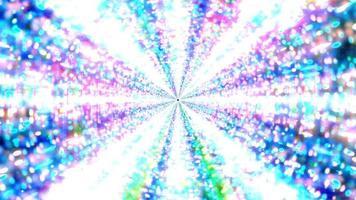 helder gloeiend science fiction melkweg 3d illustratie achtergrond behang ontwerp kunstwerk foto