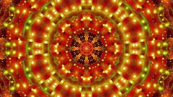 groen rood knipperend kalaidoscope 3d illustratie achtergrondbehang foto