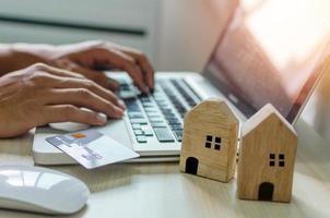 hypotheek krediet concept