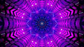 ster tunnel abstracte 3d illustratie visuele achtergrond behang ontwerp kunstwerk foto