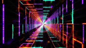 abstract kleurrijk kunstontwerp 3d illustratie achtergrondbehangontwerp kunstwerk foto