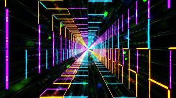 abstract cool kleurrijk multi color 3d illustratie achtergrond behang ontwerp artwork foto