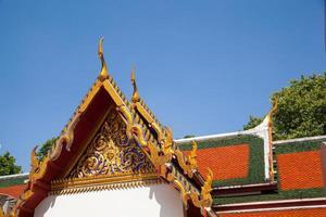 boeddhistische tempel in Thailand foto