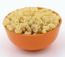 verse en gezonde rauwe pasta