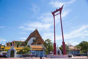 gigantische schommel wat thai foto
