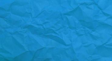 blauw samengeklonterd papier foto